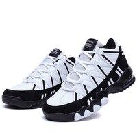 2017 nuevos altos Zapatillas de baloncesto mujeres transpirable sneakers entrenamiento al aire libre Zapatos Niñas DMX aire Cojines deportes Zapatos