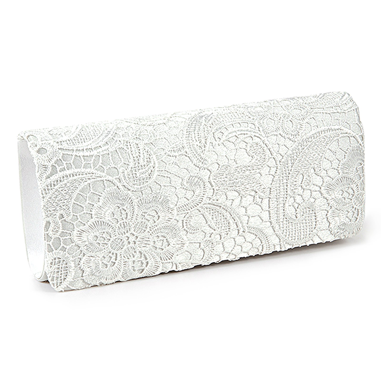 SCYL women Lace Floral Satchel white clutch bag for wedding, Evening Bags Purses and Handbags women clutch bag casual clutch purses and handbags evening clutch bags women pu leather handbags ladies hand bags yhb141 142