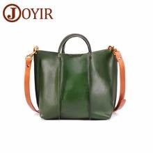 JOYIR Genuine leather Women Handbags Fashion Women's Shoulder Messenger Bags For Women Hign Quality Luxury Brand Bag Totes New