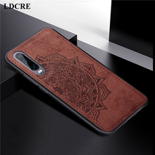 For Huawei P30 Case Cover 3D Luxury Cloth Fabric ELE-L29 L09 Phone Ascend