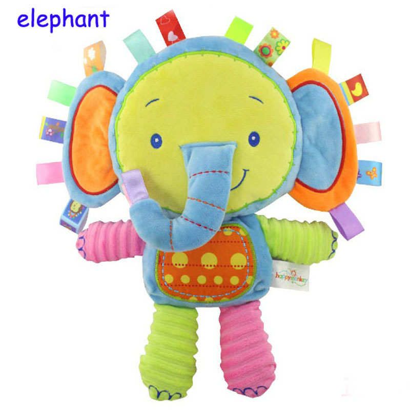Happy-Monkey-Baby-Toys-Infant-Animals-Dolls-Kids-Rattles-Soft-Plush-Toys-Elephant-Rabbit-Lion-8-styles-Infant-Toys-Wholesale-1