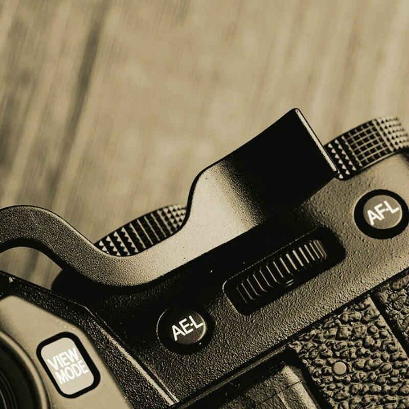 Plus fort Repose-Pouce Pouce Poignée Chaude Couvre-chaussures Pour Fujifilm XT10 XT20 FUJI X-T10 X-T20 Caméra