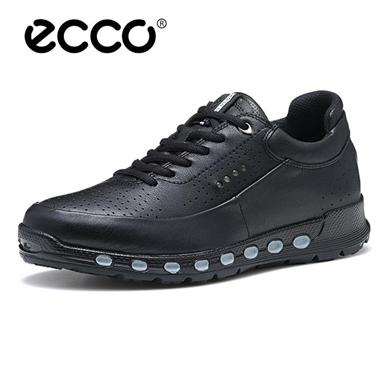 New Ecco shoes Men zapatillas hombre leisure shoes Man Casual Shoes anti-slip Summer Breathable leat
