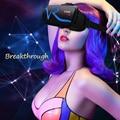 Оригинальный Новый google 3D VR Очки картона touch VR СЛУЧАЕ RK-A1 Виртуальной Реальности Беспроводная Связь Bluetooth VR Напорный ящик Крепление Геймпад