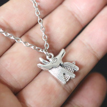 Egyptian God Anubi Jackal Pendant Chain Necklace For Women Christmas Gifts Vintage Silver Charms Choker Collier Bijoux Jewelry