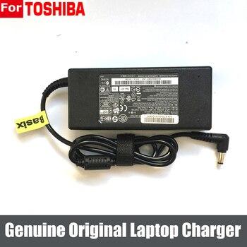 Genuino 90W 19V 4.74A AC adaptador cargador fuente de alimentación para Toshiba Satellite P840 P845 PA5035U-1ACA