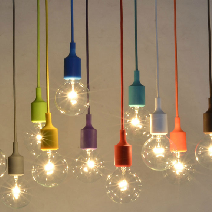 edison pendant lighting. Exellent Pendant Vintage Edison Pendant Lights Creative DIY Droplight Rainbow Lamp  Colourful Home Decoration Lighting For BarShow Windowin From  In E