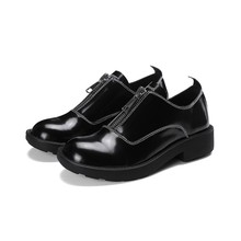 2017 New Classic Elegant leisure Real leather Genuine Leather Women's shoes