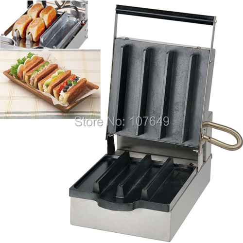 Commercial Use Non-stick 110v 220V Electric Danish Sandwich Iron Baker Maker Machine