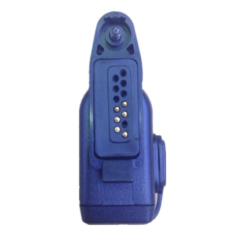 Honghuismart Audio Adapter For Motorola GP328plus GP338plus GP344,GP388 Walkie Talkie To 2pins M Plug 3.5mm/2.5mm Jack