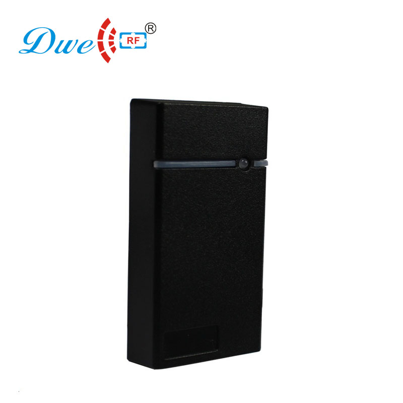 DWE CC RF Access Control Card Reader Waterproof Rs232 Reader RFID Chip Card Management Reader
