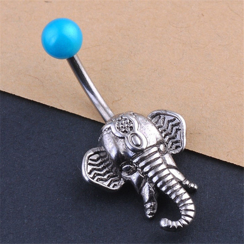 Cute 1PCS Steel Belly Bars...