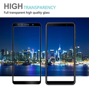 Image 4 - Full Cover Protective Glass for Samsung Galaxy A7 2018 A750F Safety Glass 9H Tempered Glass for Samsung A7 2018 Screen Protector