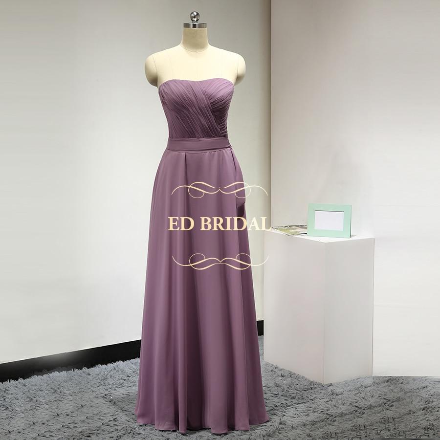 Compra mauve bridesmaids dresses y disfruta del envío gratuito en ...