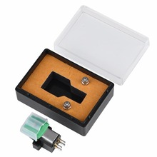High Quality for AT95E Record Player Stylus 3 Speed 13mm Pitch Record Cartridge Vinyl Stylus