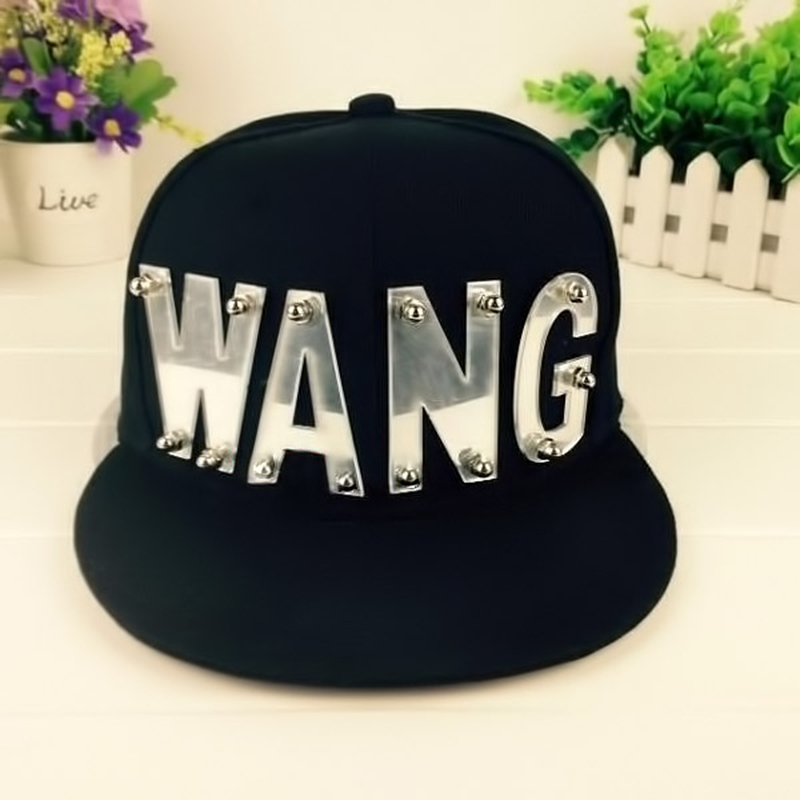 KPOP GOT7 Jackson Adjustable Cap Baseball Hat Snapback WANG Caps sunhat shjustable hat for man woman