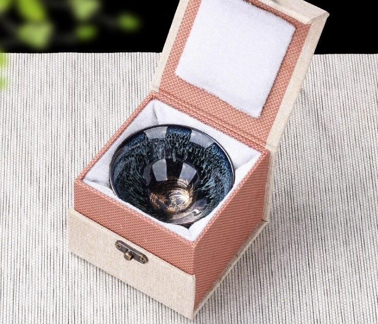 Forno di ceramica tazze di tè luce kung fu master tazza tazza singola luce tazza di tè campione tè perfettamente giocabile tazza