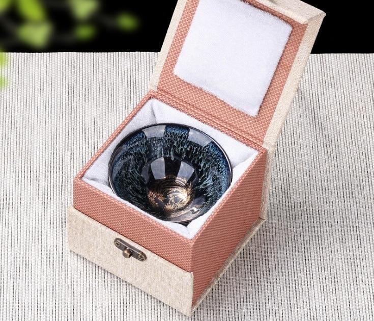 Kiln Ceramic Cups Of Tea Light Kung Fu  Master Cup Single Cup Light Tea Bowl Sample Tea Perfectly Playable Cup