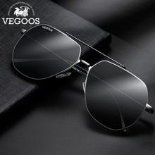VEGOOS Mens Classic Aviation Nylon Sunglasses UV400 Protection Ultralight HD Driving Pilot Sun Glasses oculos de sol #3181