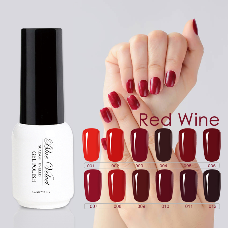 Aliexpress.com : Buy Blue Velvet Charming Wine Red Series