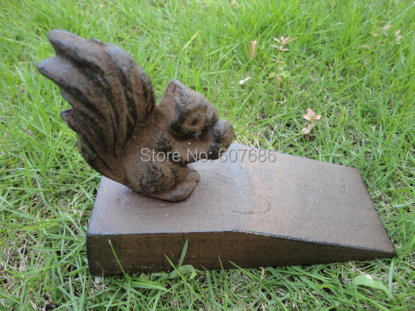 2 Pieces Country Cast Iron Squirrel Door Stop Rustic Metal Doorstop Door  Stopper Home Office Store