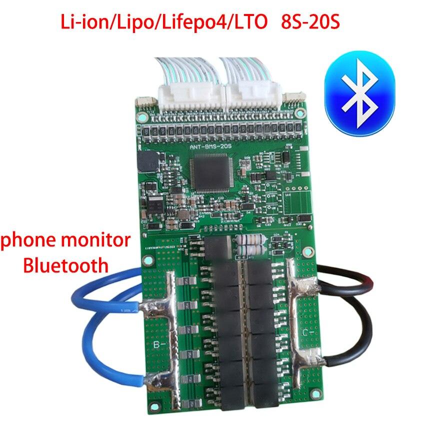 8S to 20S Ant Protection Board 72V 60V 48V 13S 10S eBike EV Li ion Lipo