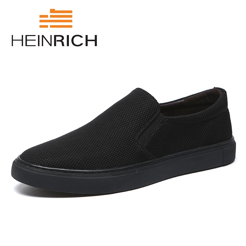 HEINRICH 2018 The New Listing Shoes Men Breathable Fashion Outdoor Canvas Shoes Comfortable Light Men Shoes Zapatos-HombreHEINRICH 2018 The New Listing Shoes Men Breathable Fashion Outdoor Canvas Shoes Comfortable Light Men Shoes Zapatos-Hombre