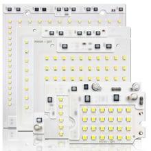 10PCS/LOT LED SMD CHIP 10W 20W 30W 50W 100W AC220V with Smart IC 2835 light beads For DIY Floodlight Outdoor lamp