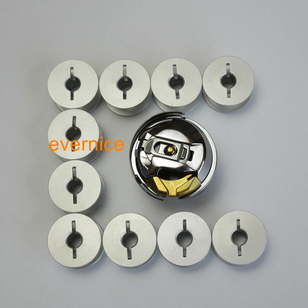 1SET Bobine Case /& Rotatif Crochet Fit pour PFAFF 471 ~ 493 Seiko PWB-8GW type GC24660