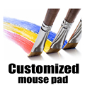 Customized Mouse pad  by yourself,mouse pad customizing,custom-made mat,customized mouse pad