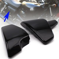 Brand New 1pair Black ABS Left and Right Battery Side Faring Cover Fit For Honda Shadow VT600 VLX 600 STEED400 1988 1998