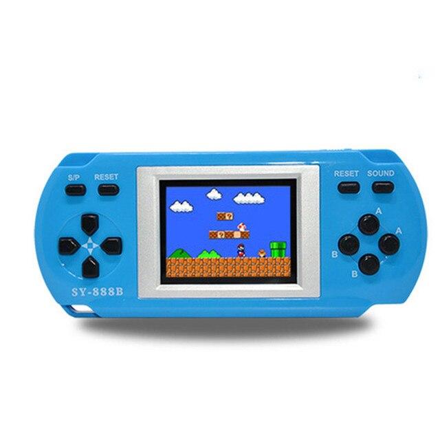SY-888B детей 1,8 дюймов 288 шт. программы игры игрок красочные Дисплей портативных игровых Инструкция на английском 3 Цвета доступны