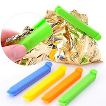 5Pcs Food Snack Storage Seal Sealing Bag Clips Sealer Clamp Plastic Tool LINSBAYWU