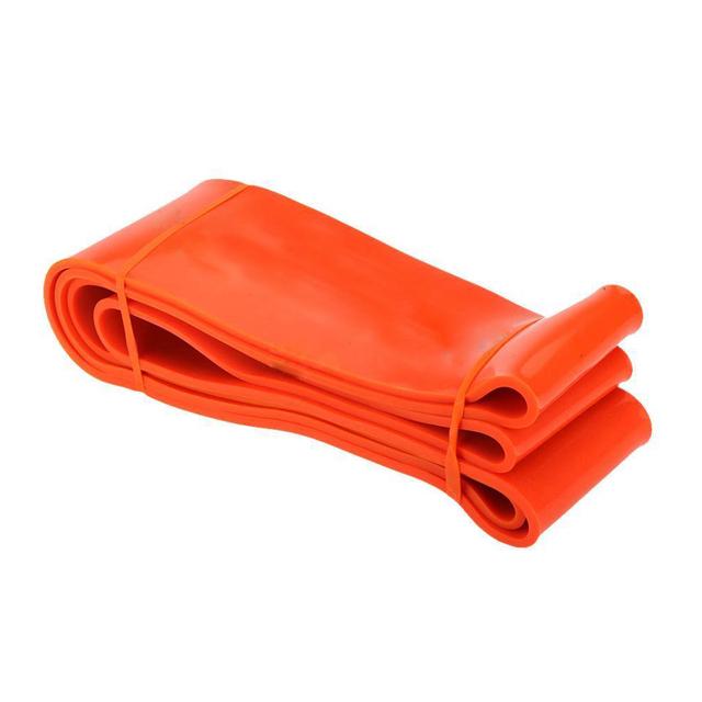 Nflc loop exercício faixas da resistência da aptidão crossfit yoga exercício latex 85-230lbs orange