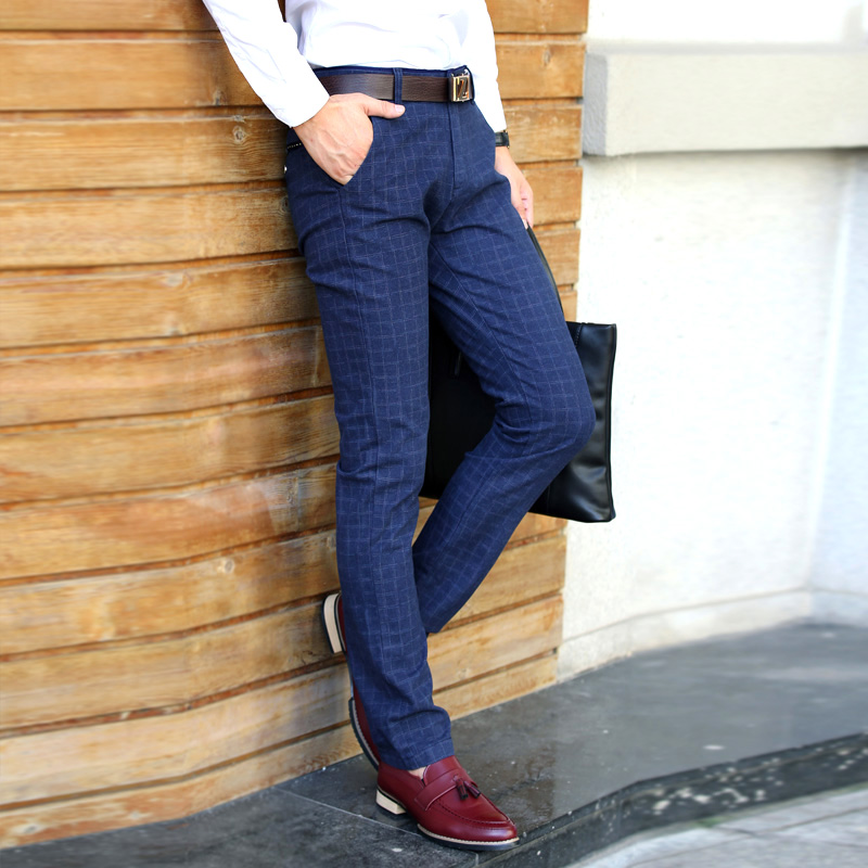 Popular Plaid Dress Pants for Men-Buy Cheap Plaid Dress Pants for ...