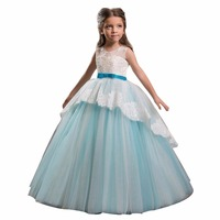 ZYLLGF Bridal ZYLLGF Ball Gown Flower Girl Dress Pageant Tiered Bottom Girls Pageant Dresses For Sale