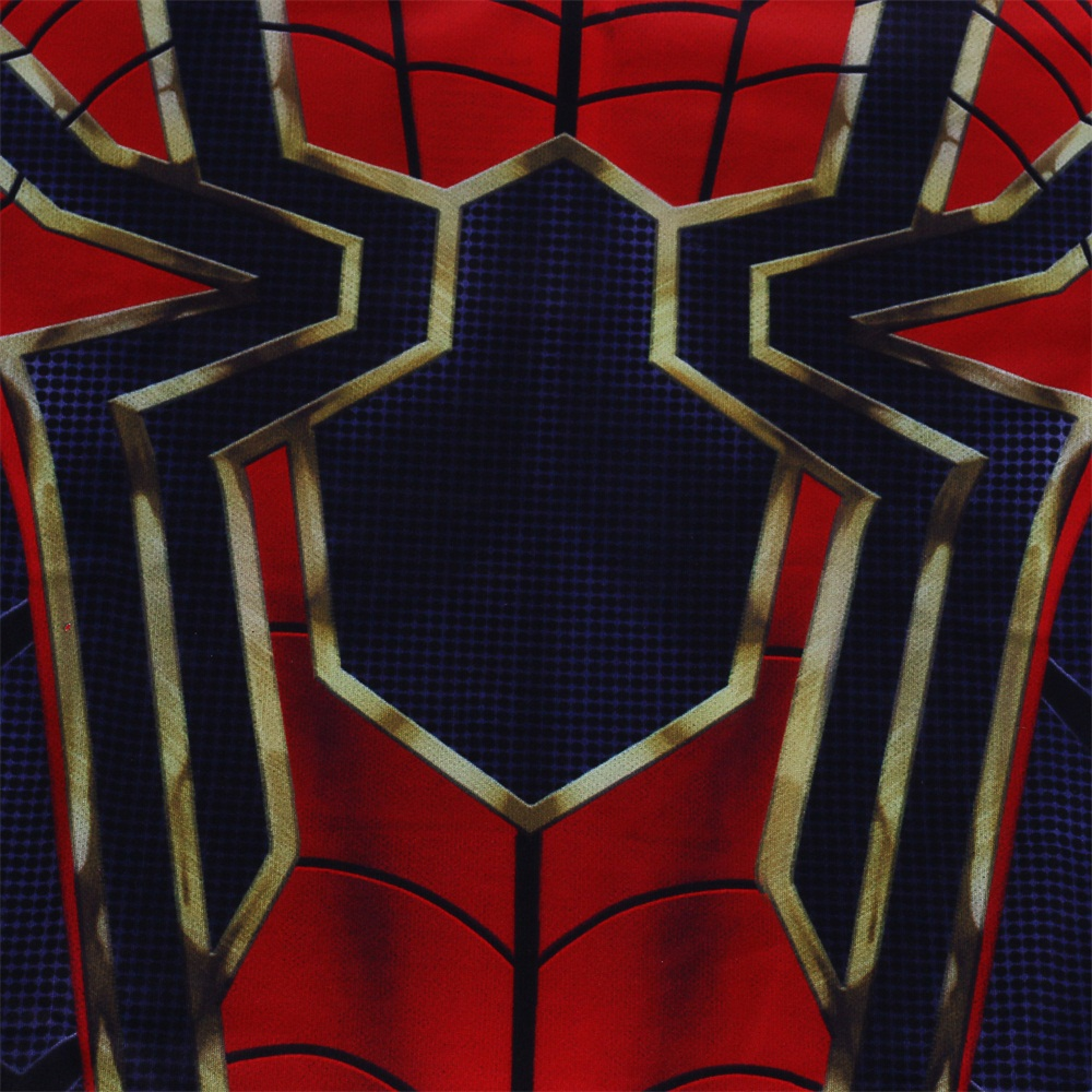 New Infinity War Spiderman T Shirts Cosplay Costume Superhero 3d Spray Sport 2018 Avengers Spidermam Sports