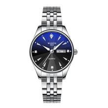 Women Watch Luxury Dress Quartz Wristwatch Stainless Steel L