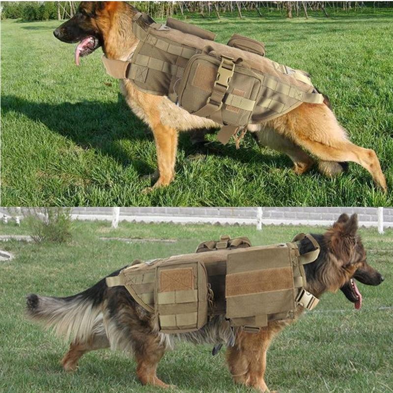 2017 Armată de protecție în aer liber Tactical câine Tricouri - Securitate și protecție - Fotografie 5