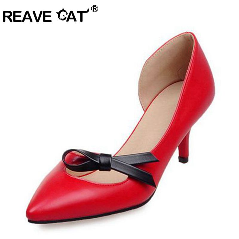 Popular Red Mid Heels-Buy Cheap Red Mid Heels lots from China Red ...