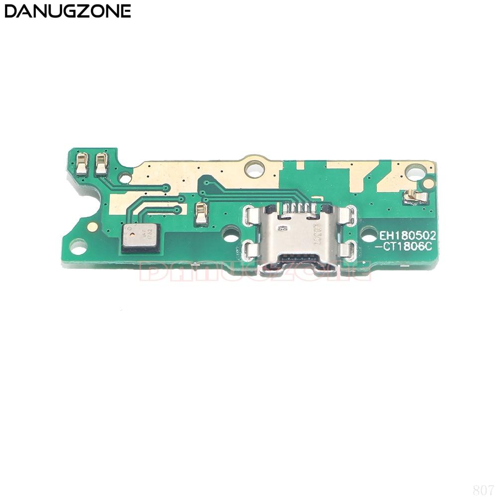 Placa de Carga Porto Doca de Carregamento USB Plug Jack Connector Flex Cable 5.45 polegada Para Huawei Honor 7A 7 S/ honor Play 7