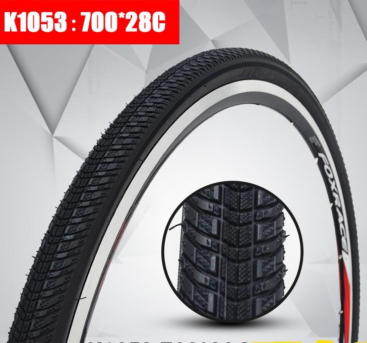 700 * 28C 32C 35C 38C pneus de voyage multi-terrain K1053 pneu de vélo de route pour vélo de croiseur de vélo de route à engrenages fixes