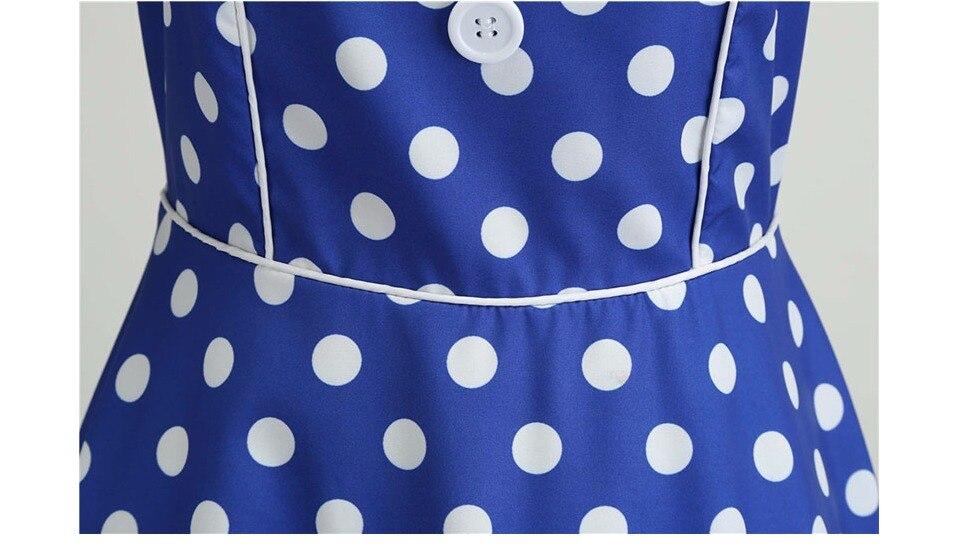 Koktejlové Retro párty šaty jednofarebné prešívaný lem bodky (5 variánt) 33