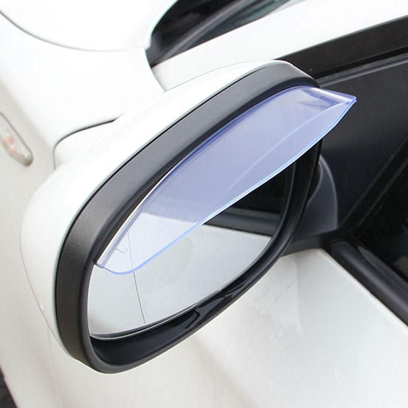 Car Rearview Mirror Rain Rainproof Eyebrow Cover  for Kia Rio K2 ...