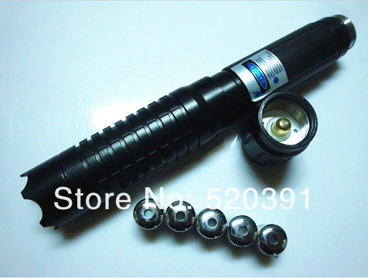NEW 60000mw/60w blue laser pointer 450nm adjustable burning match/dry wood/candle/black/burn cigarettes+glasses+changer+box 3012