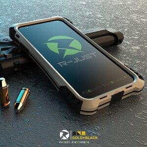 Image 3 - กันกระแทกคาร์บอนไฟเบอร์กอริลล่าอลูมิเนียมนิรภัยอลูมิเนียมหุ้มเกราะโลหะกรณีสำหรับ iPhone 7 8 6S 6 Plus 5 5S SE SHELL