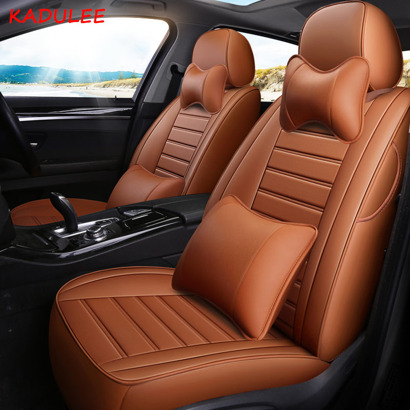 KADULEE custom leather car seat cover For Land rover Range Rover discoverer 3 4 5 Freelander 2 evoque Discovery Sport Velar seat single and double car travel front back seat cover mattress inflatable bed for land rover discovery 3 4 2 sport range rover