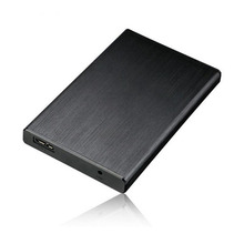 Hard disk box 2.5-inch 3.0 high-speed 6G notebook aluminum alloy wire drawing solid-state SSD mobile hard disk box