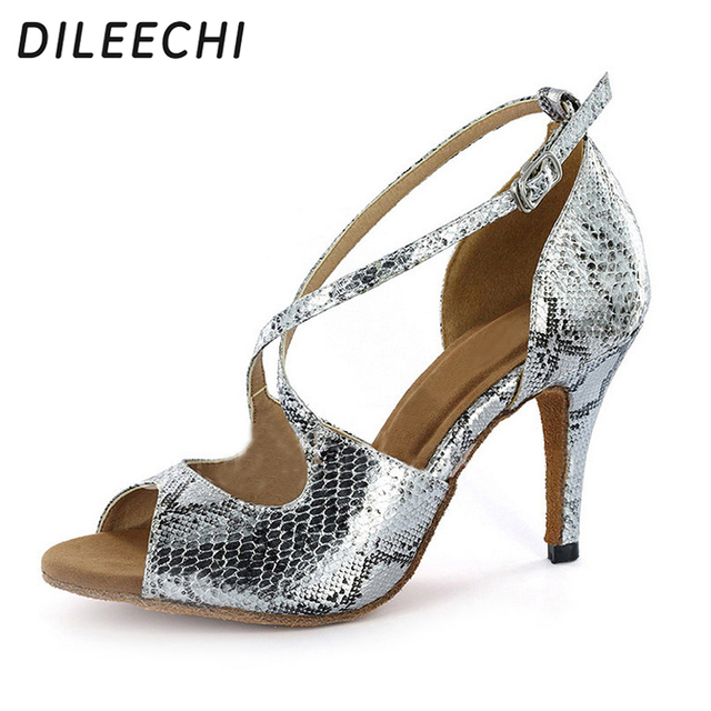pacchetto elegante e robusto autorizzazione in uso durevole 25 Leopardo Cm Di Dileechi 89 8 Donne Tacco Us scarpe Da ...