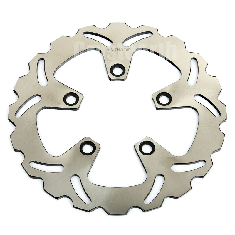 Motorcycle Rear Brake Disc Rotor For Kawasaki ZX7R NINJA 750CC ZXR L R 750 ZX9R GTR 1000 ZEPHYR 1100 rear brake discs rotors for zx7 r rr ninja 750 1989 2003 zxr 750 l r 89 95 zx9 r ninja 94 97 gtr 1000 86 93 zephyr 1100 96 97 98